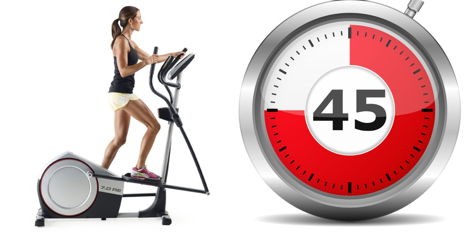 Training for athletes 45 minutes