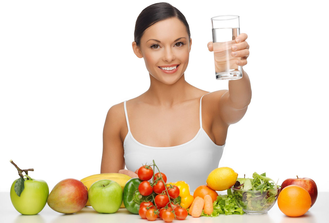 Proper nutrition and water