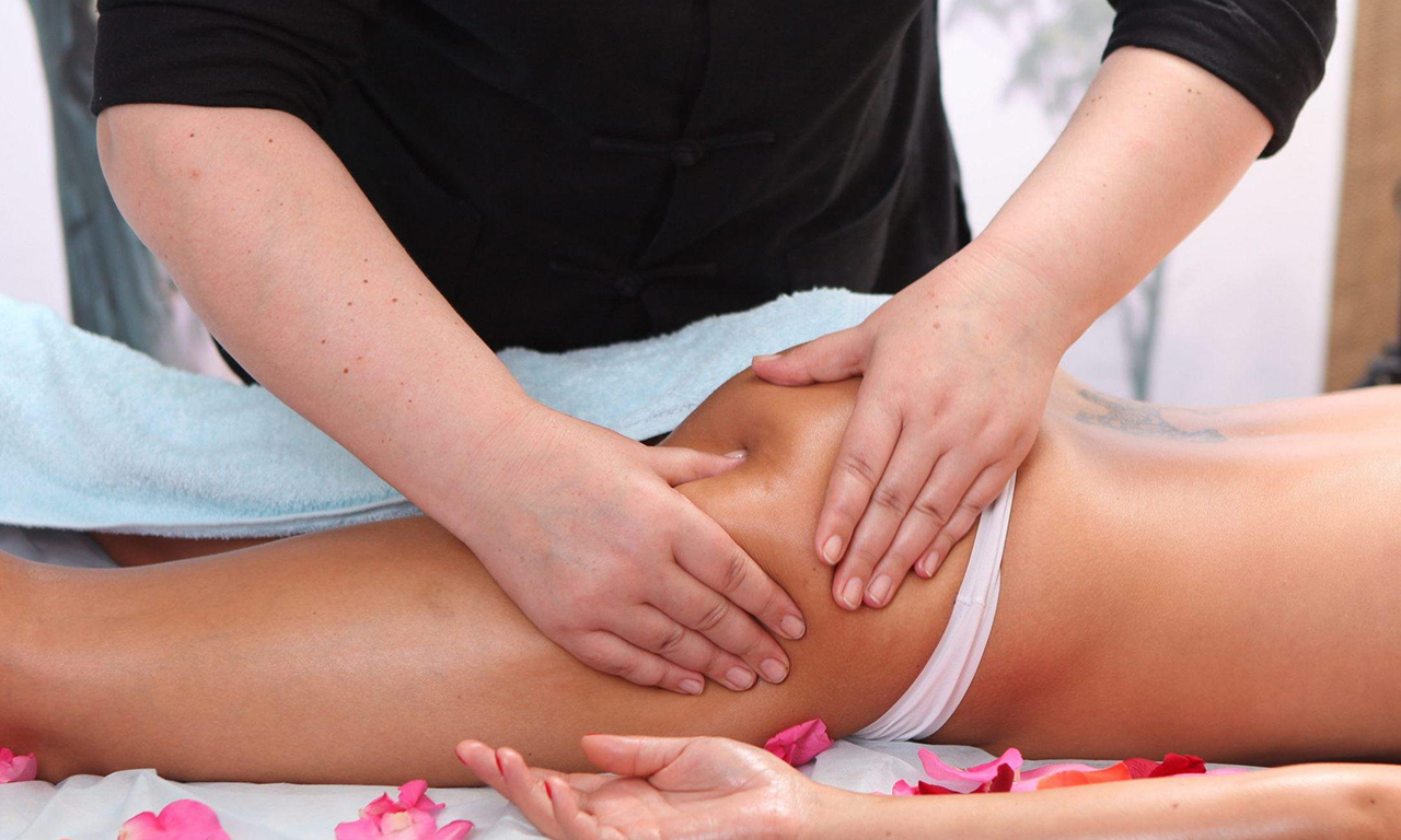 The action of anti-cellulite massage