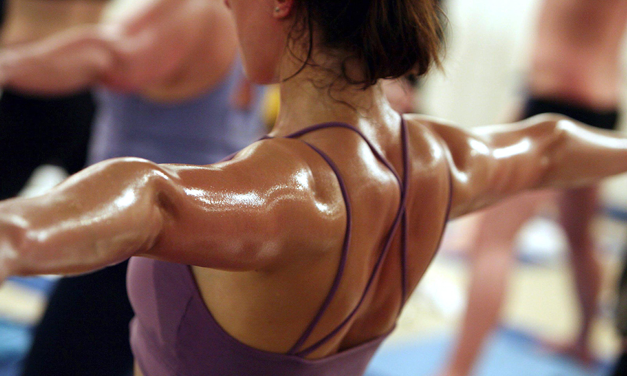 Excessive sweating during training for colds