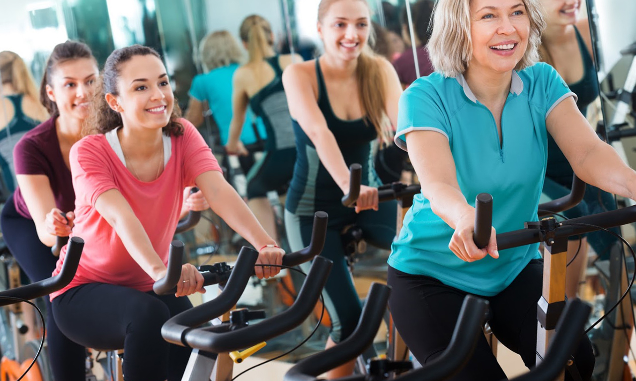 Improving mood from exercise on a stationary bike