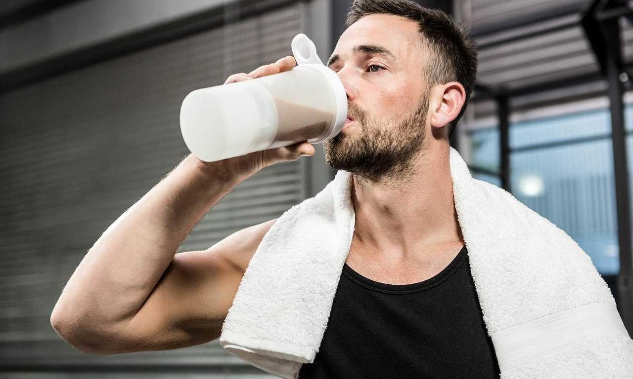 Taking creatine before or after training
