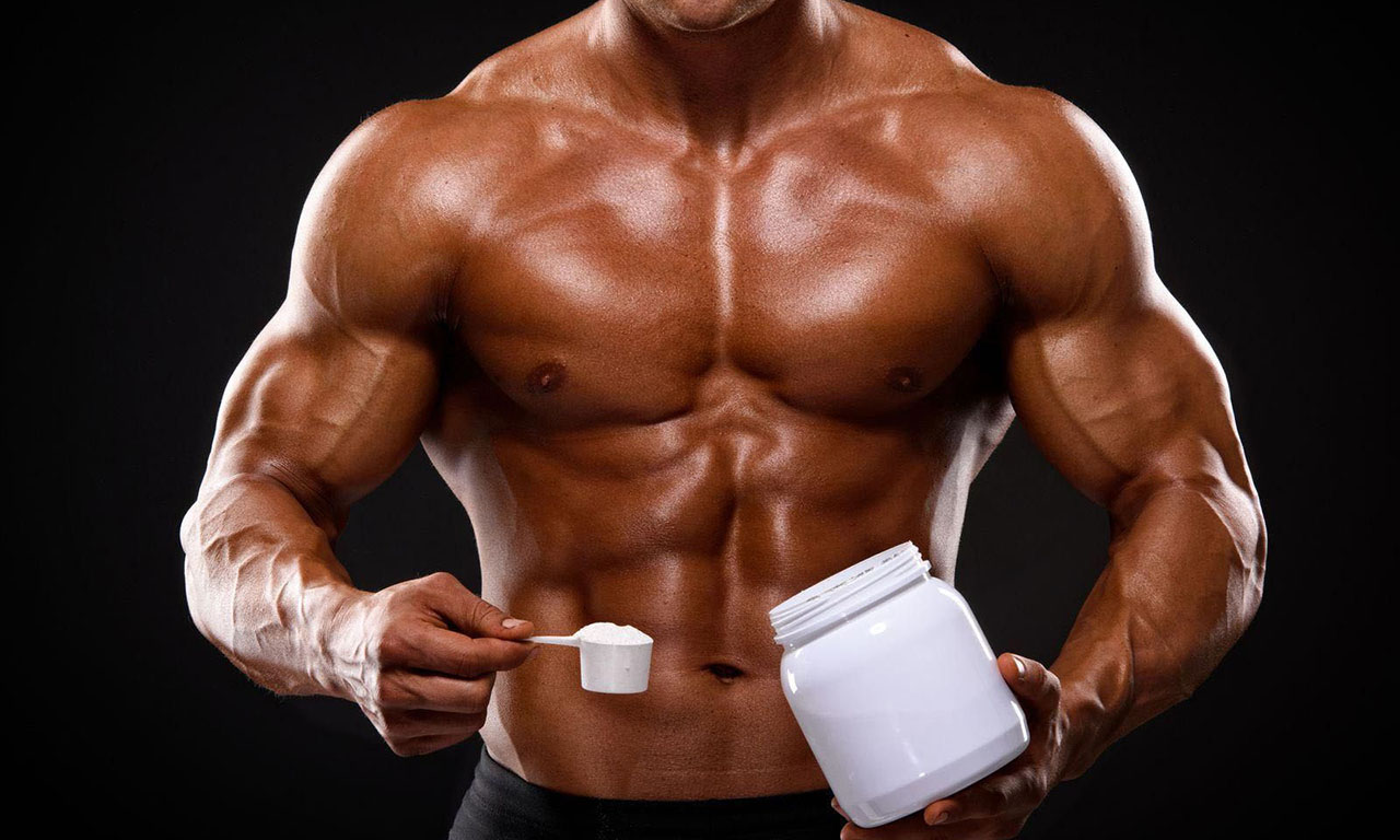 Calculation of the dose of creatine