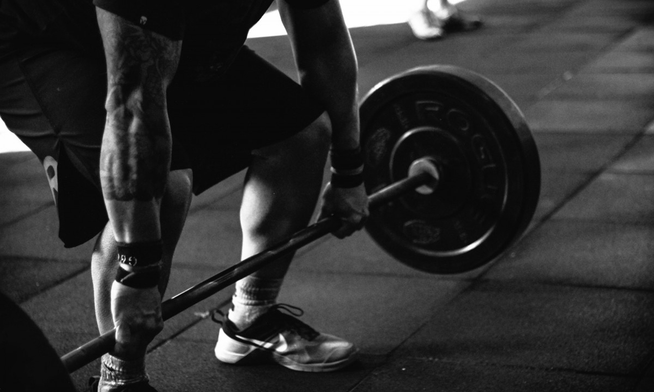 Lowering weight deadlift