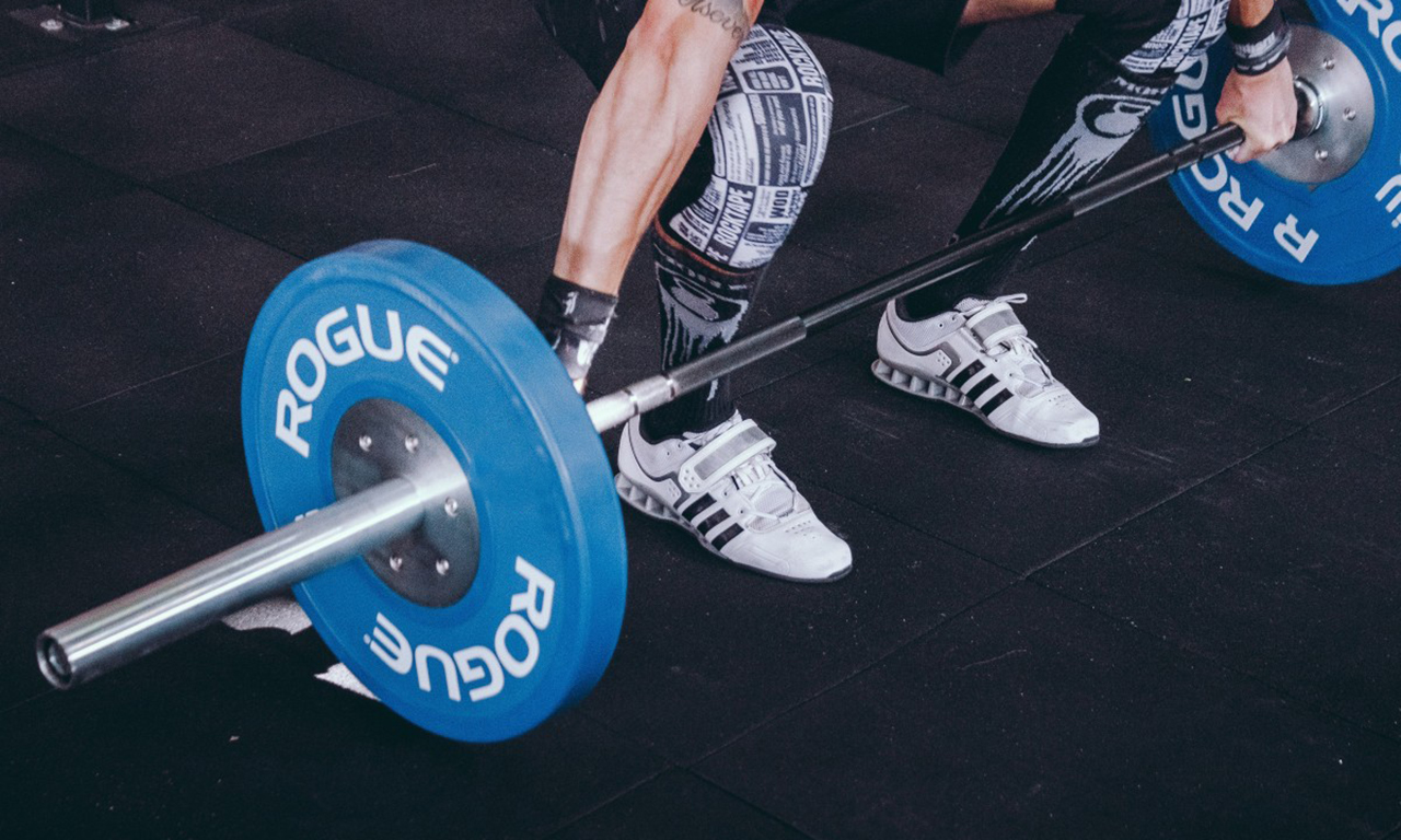 Lightweight deadlifts