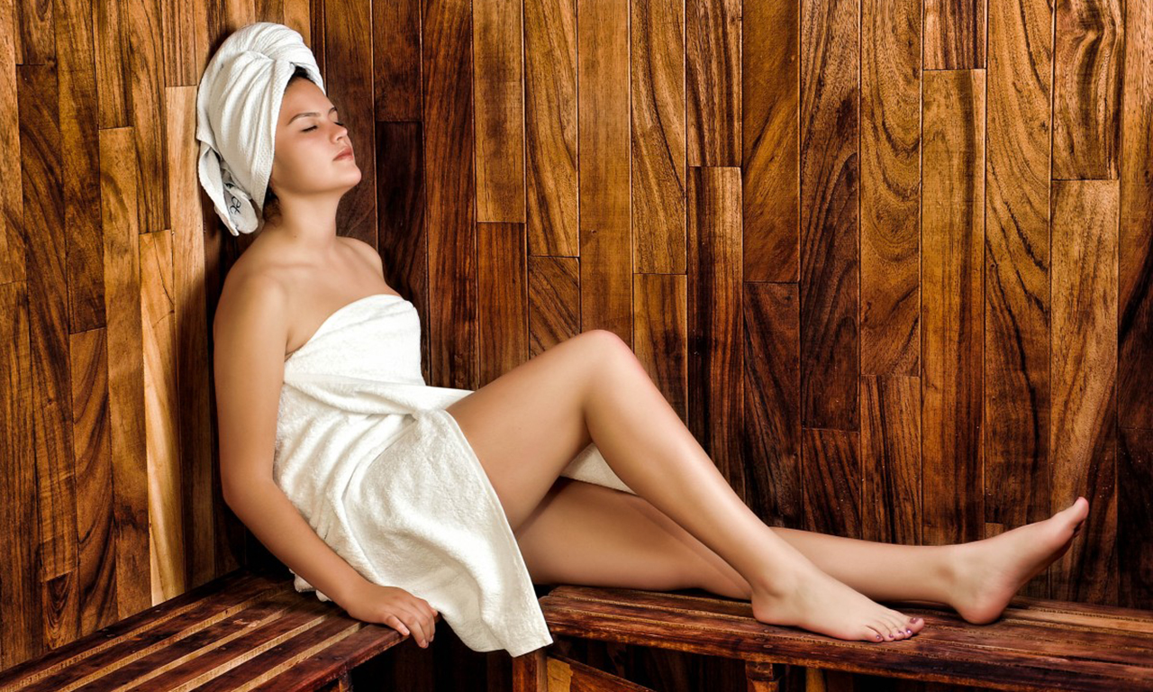 A visit to the slimming bath