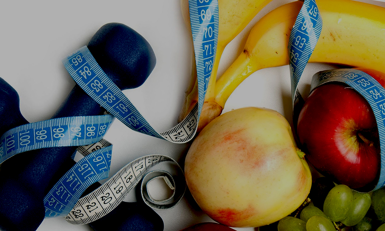 The combination of nutrition and sports for weight loss