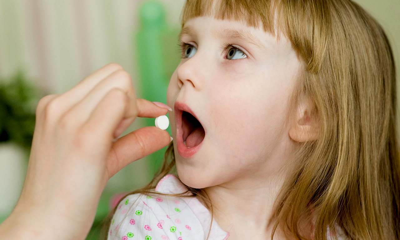 Vitamin tablets for children