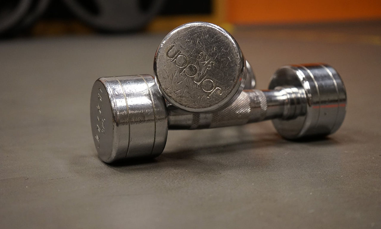 Training dumbbells
