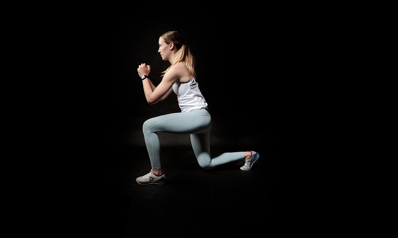 Lunges in walking